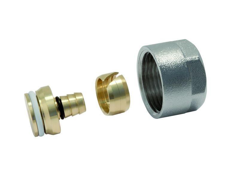 Соединитель конусный 18x2,5 G3 4  для труб PE-Xc Al PE-HD Push PLATINUM