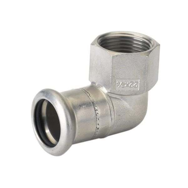 Отвод с внутренней резьбой press