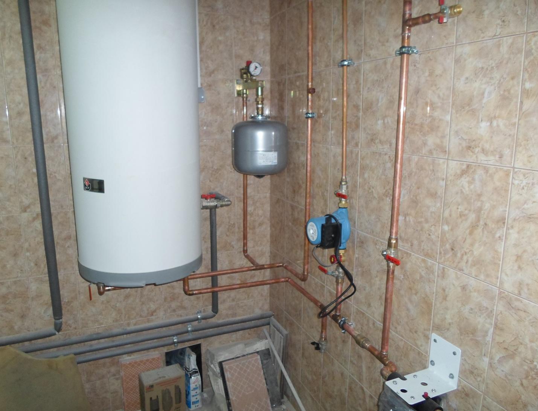 Правила монтажа емкостного водонагревателя