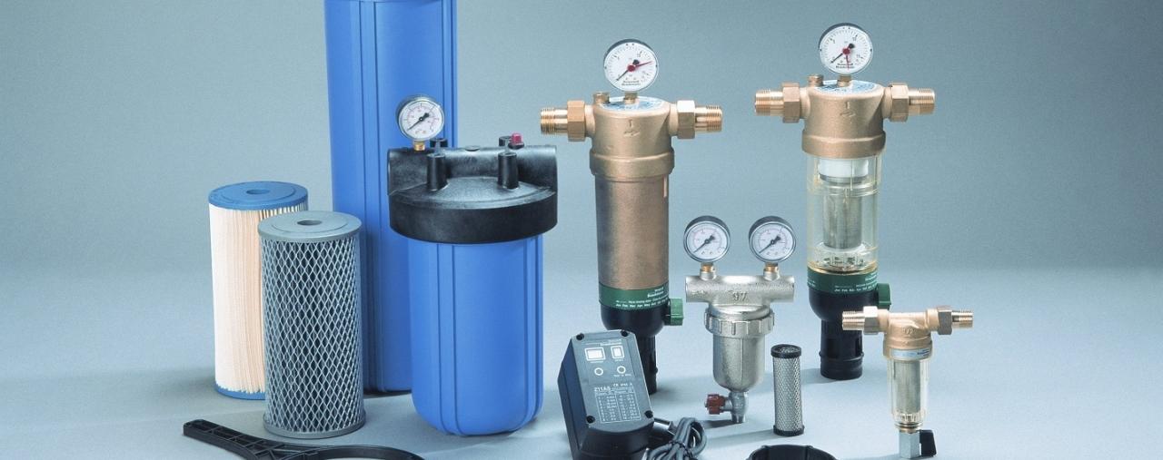 Установка фільтрів водоочищення в приватному будинку, квартирі, офісі
